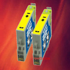 2 T044420 T0444 YELLOW INK FOR EPSON C84WN C66 CX6600