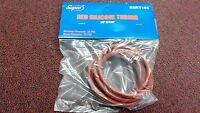 """RED SILICONE TUBING 1/8"""" I.D.  X 60"""", WP: 25 PSI, BP: 75 PSI, PART# SSRT185"""