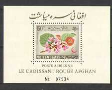 Afghanistan 1962 Red Crescent / CROSS / Medical M / S n25995