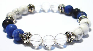 LOOSEN UP 8mm Crystal Intention Bracelet w/Description - Healing Stone