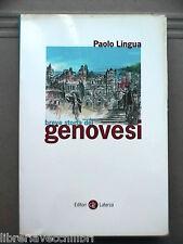 BREVE STORIA DEI GENOVESI Paolo Lingua Laterza 2001 Storia Luguria Genova di e