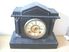 Metal 8-Day Antique Mantel & Carriage Clocks