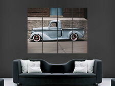 Cartel De Camioneta Chevrolet clásico arte usa imagen imagen grande de pared