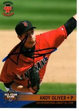 Andy Oliver 2014 Indianapolis Indians International All Star Game Signed Card