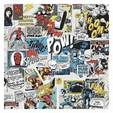 York DI0944 Wallpaper Marvel Comics Pow Unpasted Primary Wallcoverings