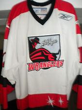 2005-2006 ECHL LAS VEGAS WRANGLERS STEVEN CRAMPTON GAME WORN HOCKEY JERSEY