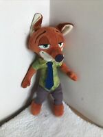 Disney Zootropolis Talking Nick Wilde Fox Teddy Plush Zootopia