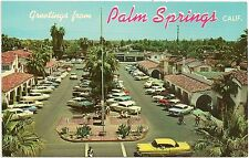 The Plaza in Palm Springs CA Postcard