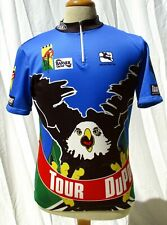 VINTAGE TOUR DU PONT 1994 USA ROAD CYCLING JERSEY TOP, SHIRT, GIORDANA ITALY