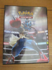 Classeur de rangement A4 Lucario pour cartes pokemon / magic 80/160 cartes Neuf