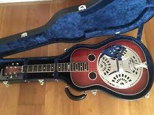 National Guitars Scheerhorn Roundneck Resonator Gitarre (Dobro)