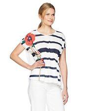 T-shirt Femme Desigual Rayé À Taille ajustable Imprimé 46