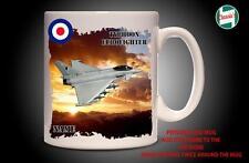 Personalised TYPHOON EUROFIGHTER RAF  PLANE Mug Cup Dad Custom Gift - Add Name