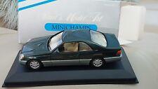 1:43 Diecast 1992 Mercedes 600 SEC C140 Coupe Minichamps Mint Boxed