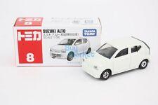 NEW Takara Tomy Tomica #8 Suzuki Alto (1st)1/56 WHITE Diecast Toy Car Japan 2016