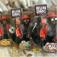 RUN DMC Mezco Toyz Orange Outfits Action Figure Set (3) Japan Exclusive 2005