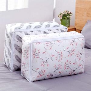 Quilt Large Storage Bag Clothes Laundry Duvet Bed Pillows Shoes Under Bed SW AJ