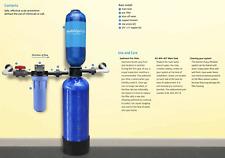 Austin Springs by Aquasana Salt-Free Water Filtration Softener Whole House Tank