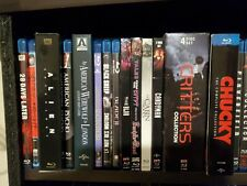 Lot of Over 60 Horror Bluray Movies for SALE 7$ Each - LIKE NEW *FREE SHIPPING!!