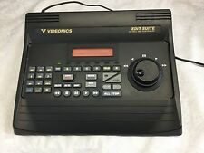VIDEONICS Edit Suite AB-1 A/B Roll Edit Controller Video Editing Equipment NTSC