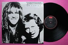 Rare LP 33T / FASTWAY / ON TARGET / 100911 / EX
