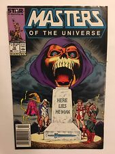 MASTERS OF THE UNIVERSE #12 MARVEL STAR COMICS NEWSSTAND Death Of HE-MAN