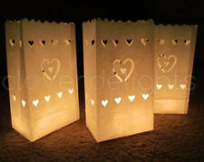 100 Party Candle Bag Lantern Outside Wedding Function Birthday Entrance Luminara