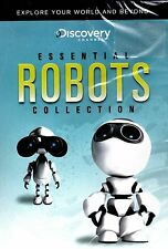 NEW DVD // DISCOVERY CHANNEL // ESSENTIAL ROBOTS - COLLECTION // 3+ HOURS //