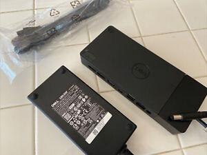 Dell WD19S-180W Docking Station Wired USB 3.2 Gen 2 (3.1 Gen 2) Type-C - Black