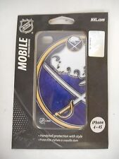 BUFFALO SABRES NHL PHONE CASE FOR iPHONE 4 - 4S HARDSHELL NEW IN PACKAGE