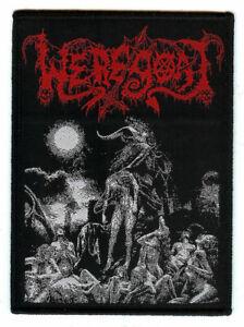 Weregoat Pestilential Rites of Infernal Fornication Woven Patch Black Death
