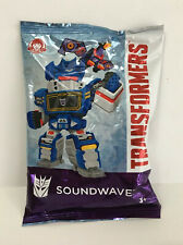 Transformers Soundwave 35th Anniversary Wendys Toy.1 Bag Unopened. Christmas-Gif