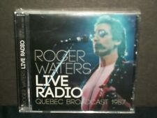 Roger Waters - Live Radio CD SEALED '87 Quebec broadcast