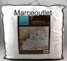 Urban Habitat Maize 7 Piece FULL / QUEEN Comforter Set Ivory / Gray