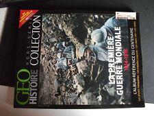 ** Revue GEO Histoire HS n°6 La première Guerre Mondiale  album centenaire
