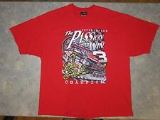 Dale Earnhardt t shirt Nascar Chase Authentics Red size 2XL The Intimidator