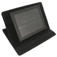 Funda para Kindle Fire Hdx 8.9 Book Style Tableta Funda Protectora Negro