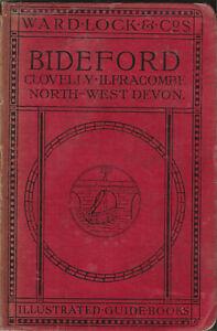 WARD LOCK RED GUIDE - BIDEFORD & NORTH-WEST DEVON - 1920/21 - 10th edition rev.
