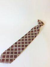 Vintage Men's Clip-on Neck Tie JCPenny Snapper Necktie Clip On Wide Tie 1960s