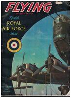 Flying Magazine September 1942 RAF Royal Air Force Issue World War II