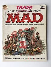 More Trash From Mad #1 (1958) VG-F with 8 Page Color Insert Intact