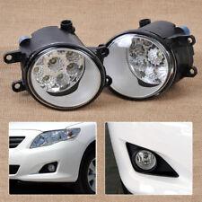 55W 9-LED Fog Lamp DRL Daytime Driving Lights For Toyota Camry Corolla Lexus