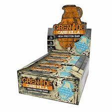 Grenade Killa carboidrati ad alto contenuto proteico e pochi carboidrati Bar, 12 x 60 G-CIOCCOLATO BIANCO