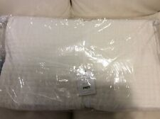 Pottery Barn King / Cal King  Pick Stitch Quilt NWT! White Cotton linen