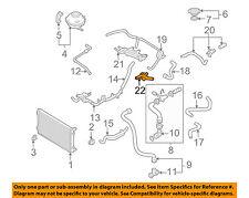 VW VOLKSWAGEN OEM 98-06 Beetle 1.9L-L4 Radiator-Flange 038121133A