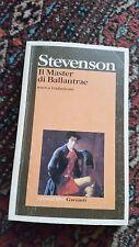 STEVENSON - IL MASTER DI BALLANTRAE - GARZANTI - 2000