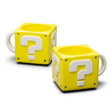 NINTENDO QUESTION BLOCK MUG NEW!