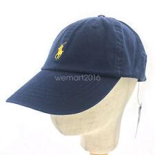 Navy Unisex Basic Small Pony RL Polo Cotton Sport Golf Baseball Hat Cap One Size