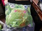"""Gund Plush Baby Happi Frog 10"""" Zippi Stuffed Animal Green Dena Brand New"""