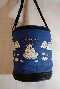 Polar Bear Cooler Light Nylon Soft with Strap, Ice Picnic Sandwich 12 Pack Beer